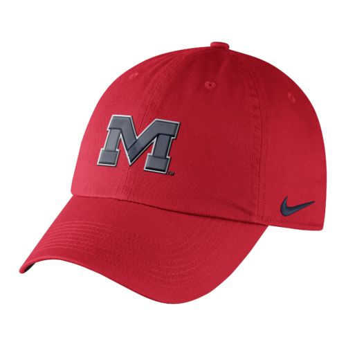 Nike™ Men's University of Mississippi Dri-FIT Heritage86 Authentic Cap
