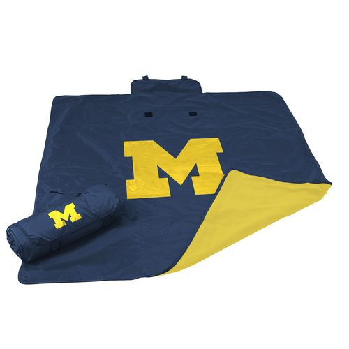 Logo™ University of Michigan All-Weather Blanket - view number 1