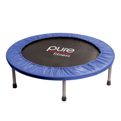 """Display product reviews for Pure Fun 40"""" Round Mini Rebounder Trampoline"""