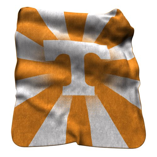 Logo University of Tennessee Raschel Throw