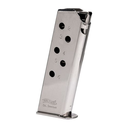 Walther PPK .380 ACP 6-Round Replacement Magazine - view number 1