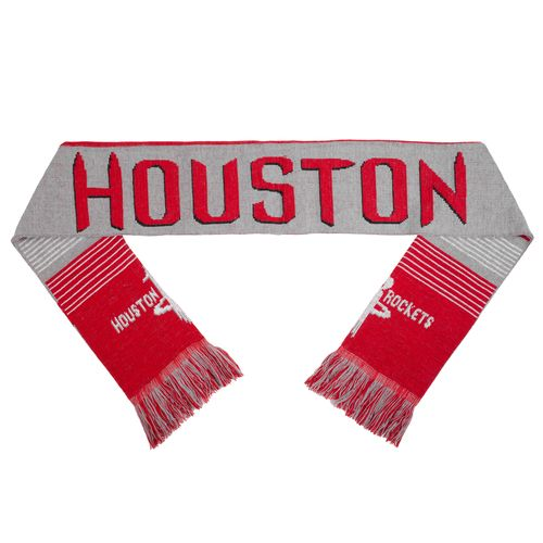 Team Beans Adults' Houston Rockets Reversible Split Logo Scarf