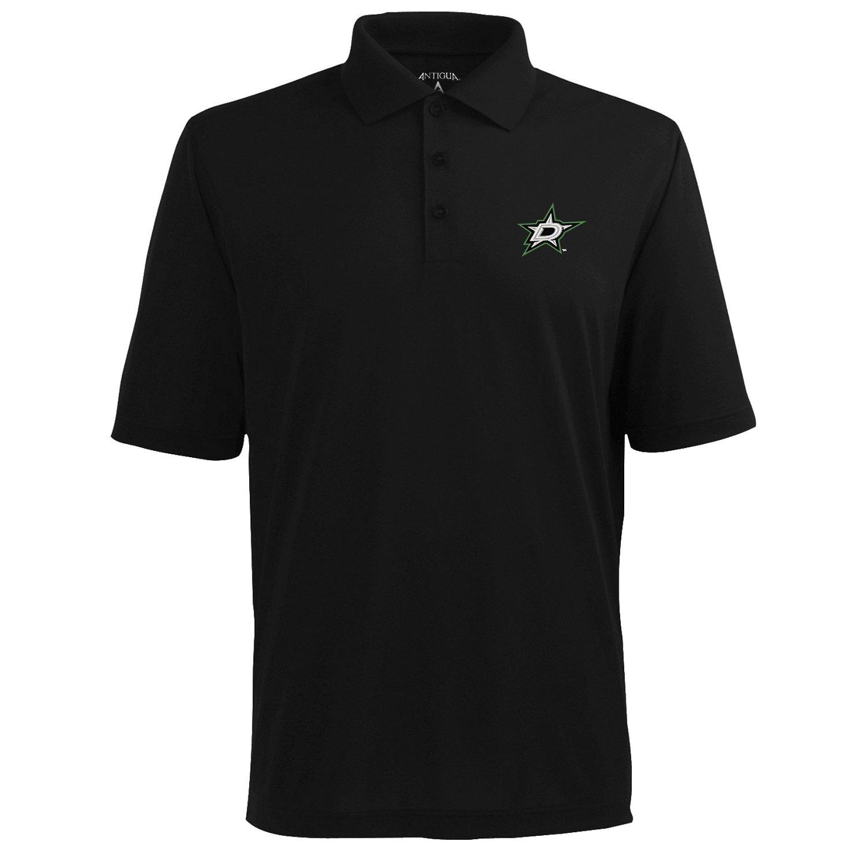 Antigua Men's Dallas Stars Piqué Xtra-Lite Polo Shirt