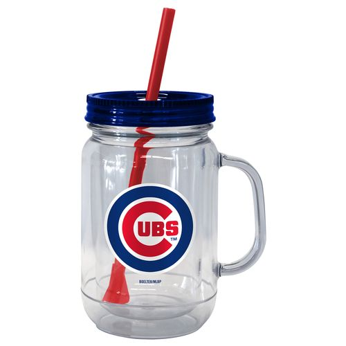 Boelter Brands Chicago Cubs 20 oz. Handled Straw