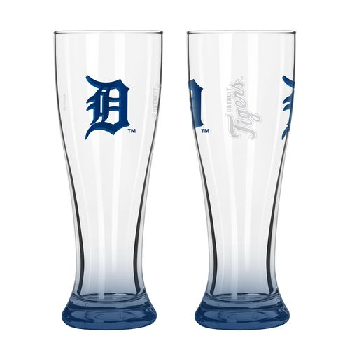 Boelter Brands Detroit Tigers Elite 16 oz. Pilsners 2-Pack
