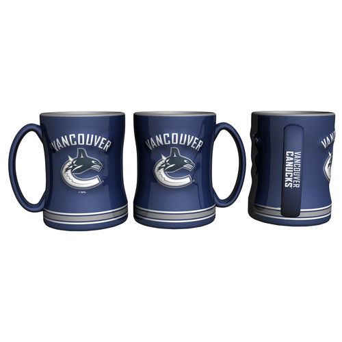 Boelter Brands Vancouver Canucks 14 oz. Relief Mugs 2-Pack - view number 1