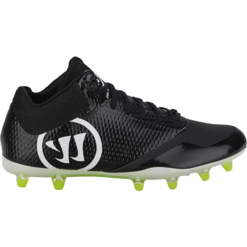 Warrior Men's Burn 9 Mid Lacrosse Cleats