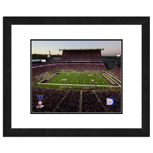 "New Photo File University of Washington Stadium 16"" x 20"" Matted and Framed Photo for sale"