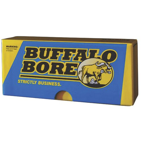 Display product reviews for Buffalo Bore Premium Supercharged .358 Winchester 225-Grain Centerfire Rifle Ammunition