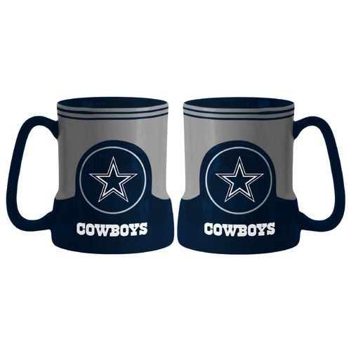 Boelter Brands Dallas Cowboys Gametime 18 oz. Mugs 2-Pack