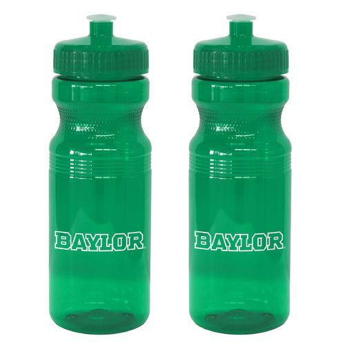 Boelter Brands Baylor University 24 oz. Squeeze Water Bottles 2-Pack