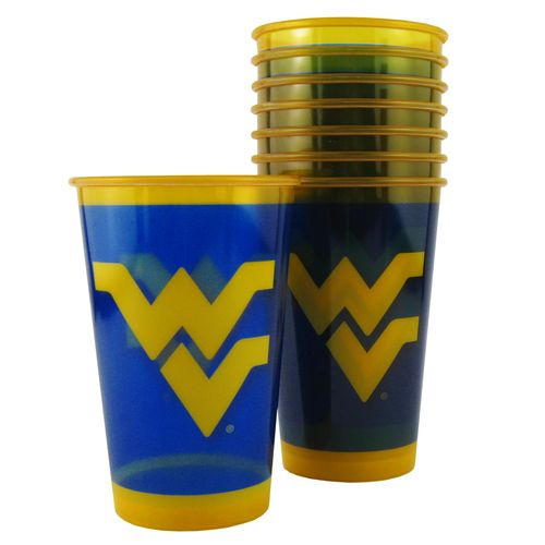 Boelter Brands West Virginia University 20 oz. Souvenir Cups 8-Pack