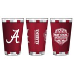 Boelter Brands University of Alabama 16 oz. Playoff Champs Sublimated Pint Glass