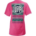 Three Squared Juniors' University of Arkansas Cheyenne T-shirt