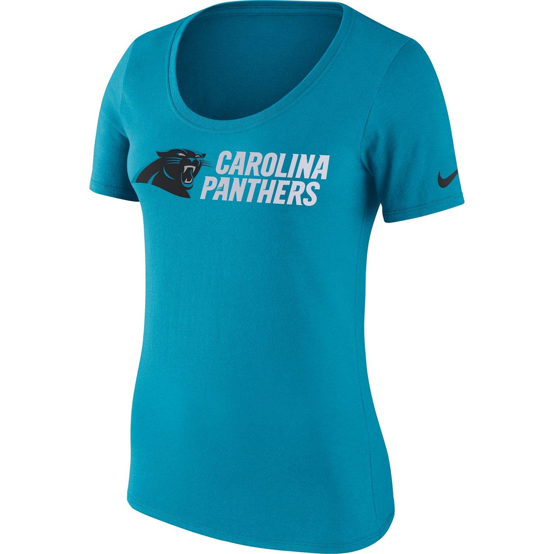 Nike Women's Carolina Panthers Cotton Lockup T-shirt
