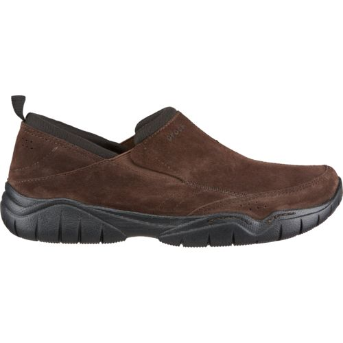 Crocs™ Men's Swiftwater Suede Moc Clogs