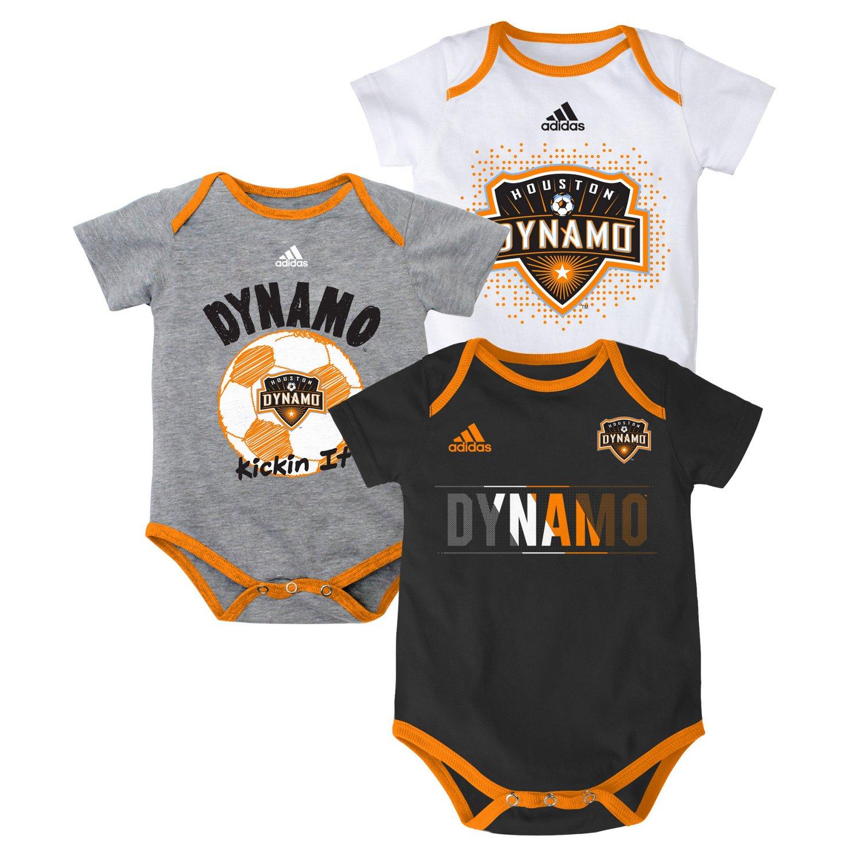 adidas™ Infants' Houston Dynamo Creeper Set 3-Pack