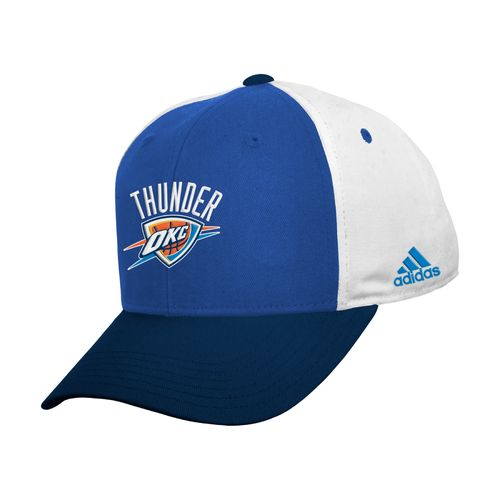 adidas™ Kids' Oklahoma City Thunder Colorblock Basic Structured Adjustable Cap
