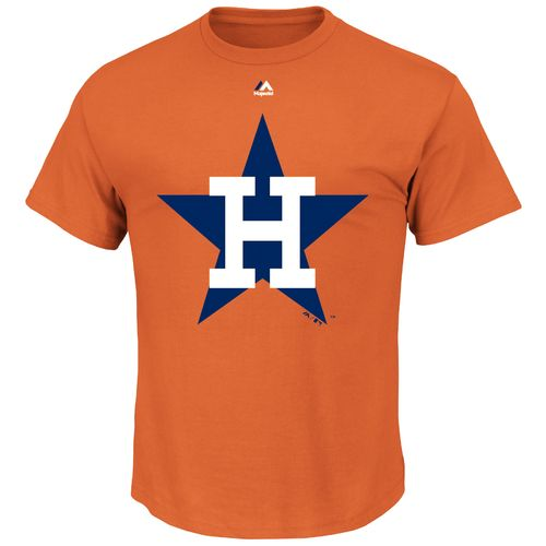 Majestic Men's Houston Astros Cooperstown Official Logo T-shirt