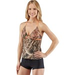 Realtree Juniors' Max-5® Halter Tankini Swim Top