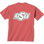 New World Graphics Women's Oklahoma State University Floral T-shirt