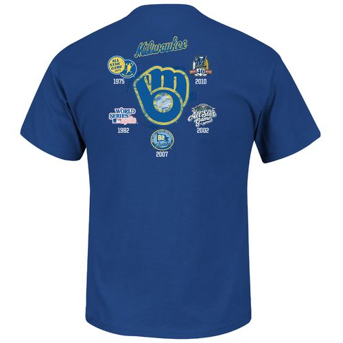 Majestic Men's Milwaukee Brewers Last Rally T-shirt