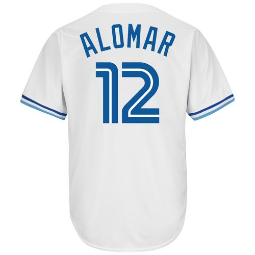 Majestic Men's Toronto Blue Jays Roberto Alomar #12 Cooperstown Cool Base Replica Jersey
