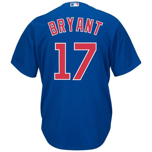 Majestic Men's Chicago Cubs Kris Bryant #17 Cool Base Replica Jersey
