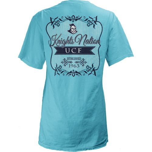 Three Squared Juniors' University of Central Florida Flora T-shirt