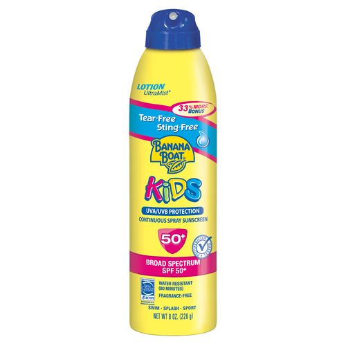 Banana Boat® Kids' Tear-Free SPF 50 Sunscreen Spray