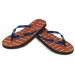 Forever Collectibles™ Women's Houston Astros Glitter Logo Flip-Flops