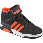 adidas Kids' Neo BB9TIS Mid-Top Basketball Shoes - view number 2