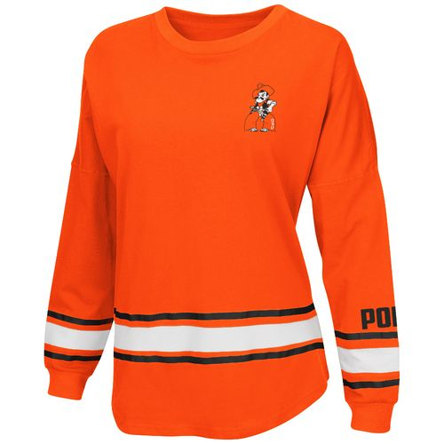 Colosseum Athletics™ Women's Oklahoma State University All Around Oversize Long Sleeve T-sh