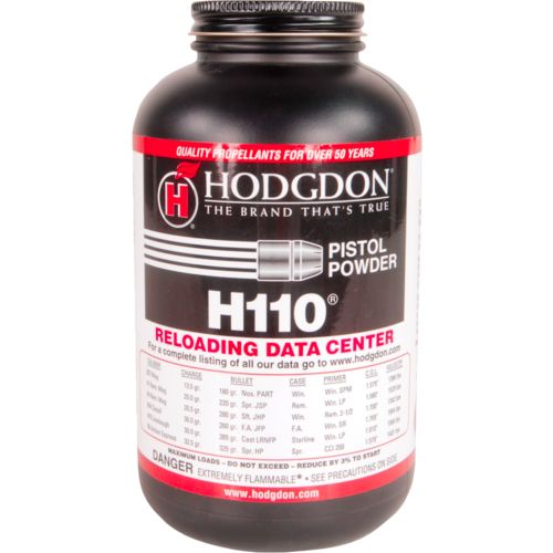 Hodgdon H110 1 lb Spherical Pistol/Shotgun Powder