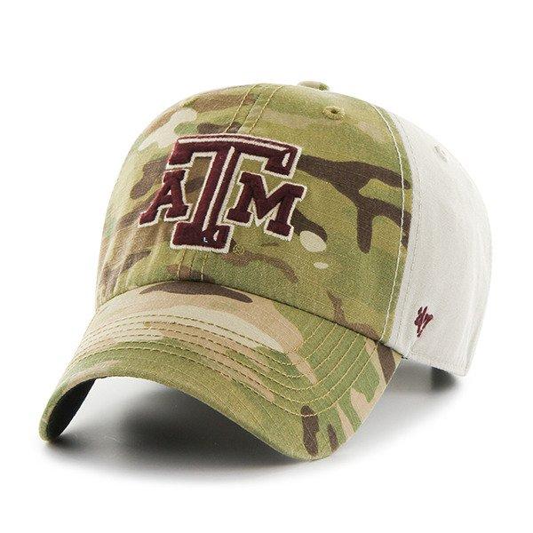 '47 Texas A&M University Sumner Camo Cap