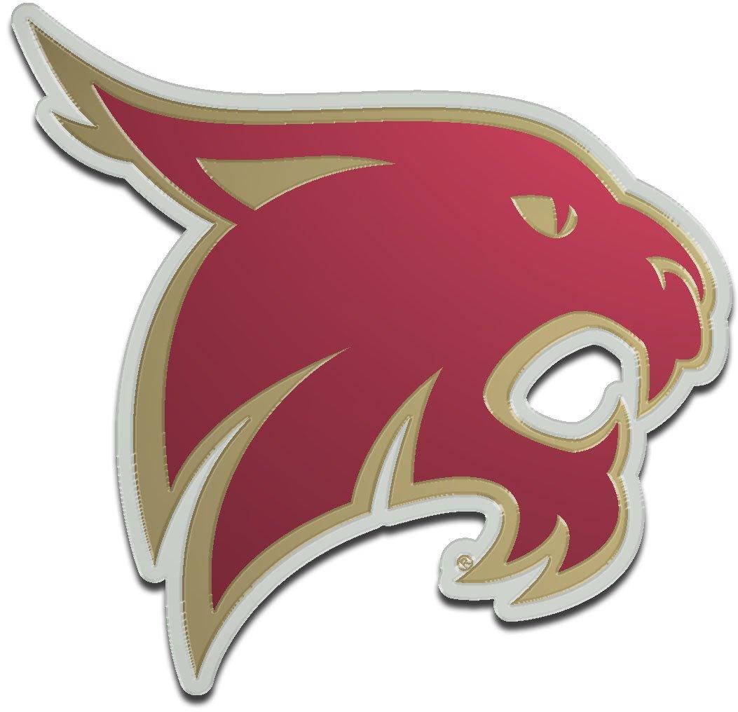 Stockdale Texas State University Laser-Cut Auto Emblem