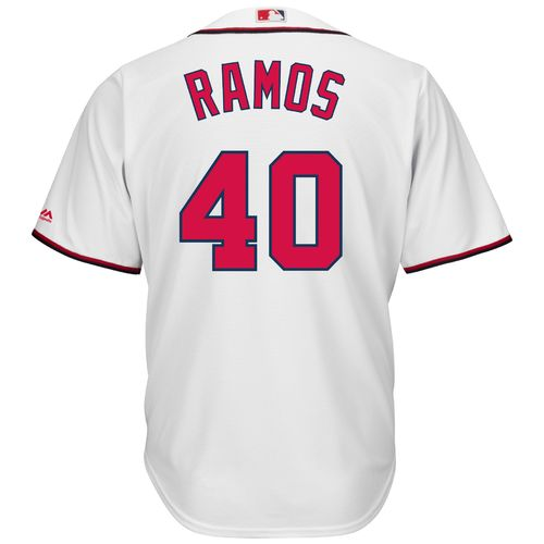 Majestic Men's Washington Nationals Wilson Ramos #40 Cool Base Replica Jersey