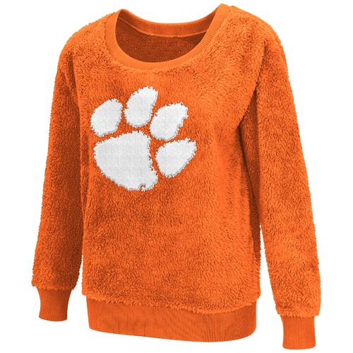 G-III for Her Women's Clemson University Sherpa Guide Pullover