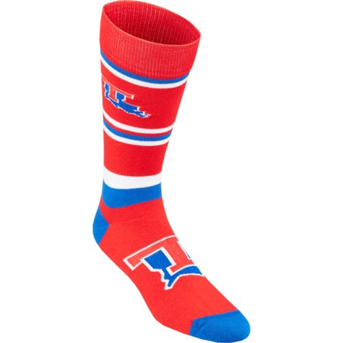 For Bare Feet Men's Louisiana Tech University Dress Socks