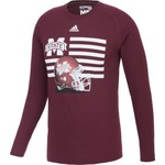 adidas™ Men's Mississippi State University Prevent Defense T-shirt