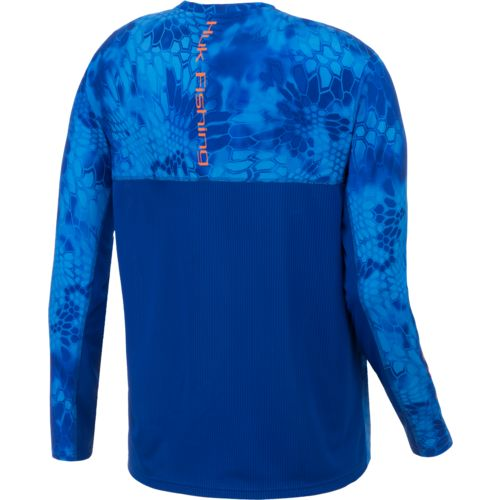 Huk Men's Kryptek Solid Long Sleeve Icon T-shirt - view number 2