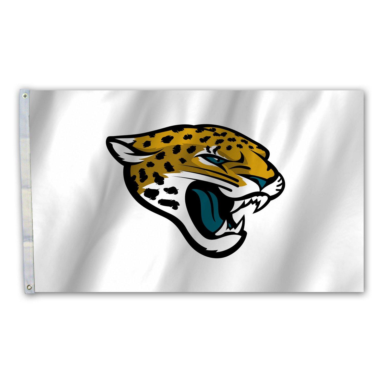 BSI Jacksonville Jaguars 3' x 5' Fan Flag