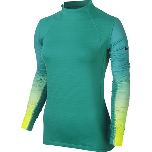 Nike Women's Pro Hyperwarm Fade Long Sleeve Top