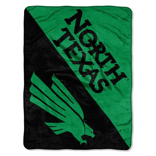 The Northwest Company University of North Texas Halftone Micro Raschel Throw
