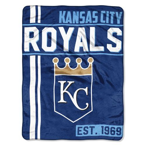 MLB Kansas City Royals Walk Off Micro Raschel Throw
