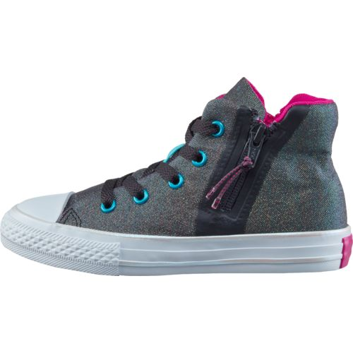 Converse Girls' Chuck Taylor All-Star Sport Zip Shoes