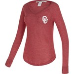 Chicka-d Women's University of Oklahoma Favorite V-neck Long Sleeve T-shirt - view number 2