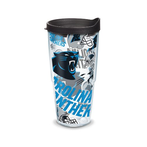 Tervis Carolina Panthers Allover 24 oz. Tumbler - view number 1
