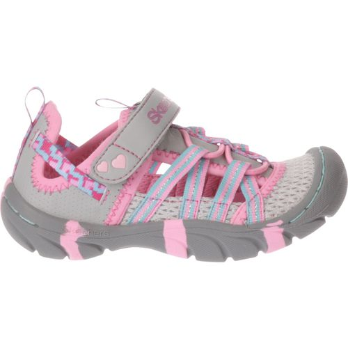 SKECHERS Toddler Girls' Summer Steps Sandals
