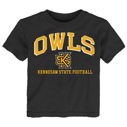 Top NCAA Toddler Boys' Kennesaw State University Bold Arch T-shirt for cheap